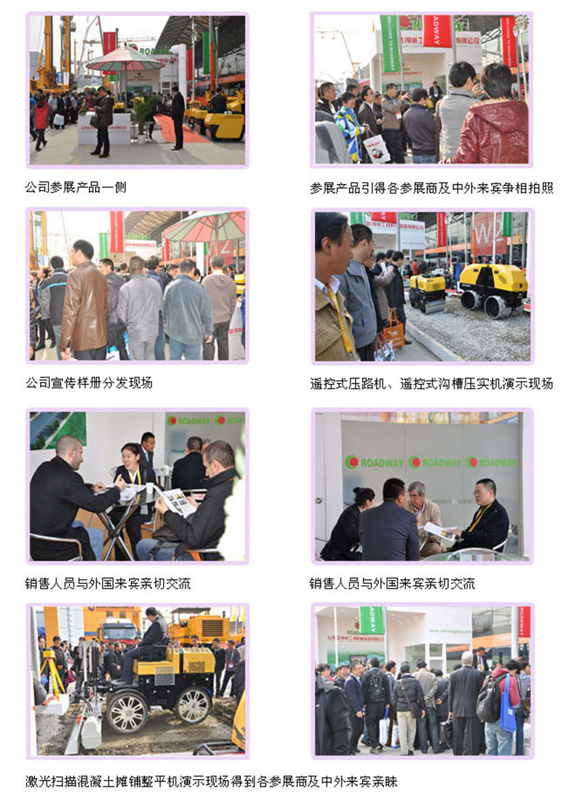I wish Shandong Ludwig successfully participated in the 2012 Shanghai Bauma Exhibition