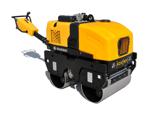 Walk-behind double drum road roller RWYL35
